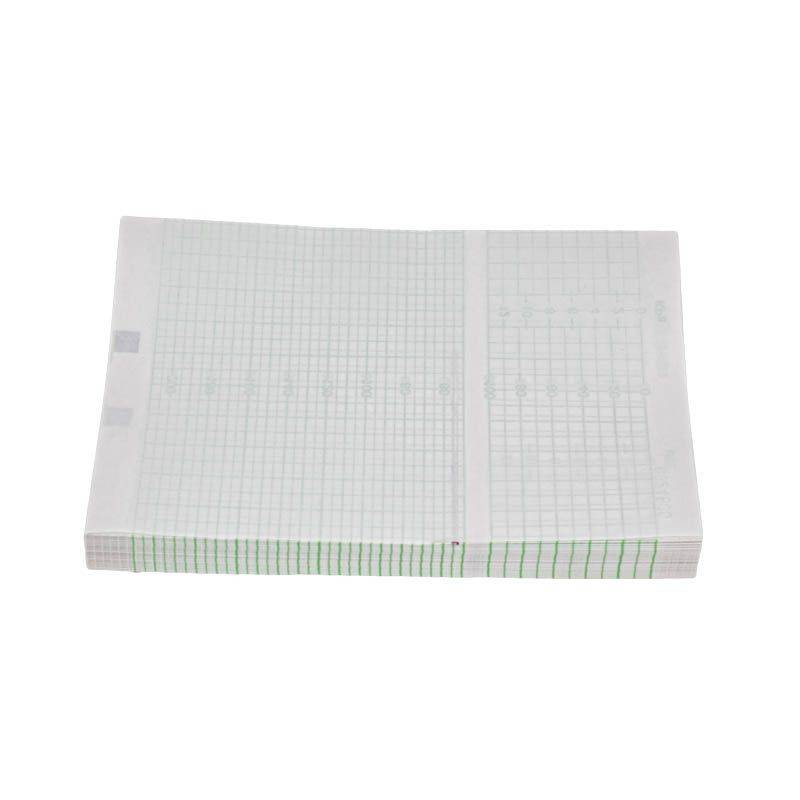 Papier Monitoring HP / EDAN F2/F3/F6/F9 & BT 350 / ECOTWIN & PHILIPS sans PERFORATION, Echelle 20